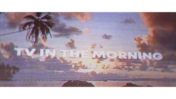 "Watch: Official Lyric Video For ""TV In The Morning"" by DNCE"