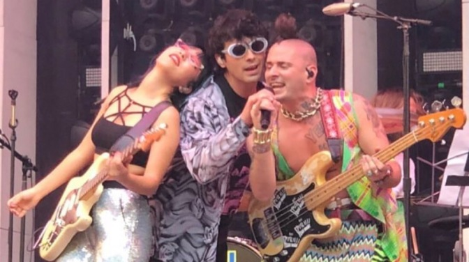 DNCE Perform in Madrid, Spain
