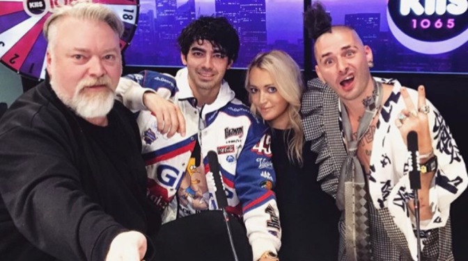 Joe Jonas and Cole Whittle Talk With KIIS 106.5 Sydney