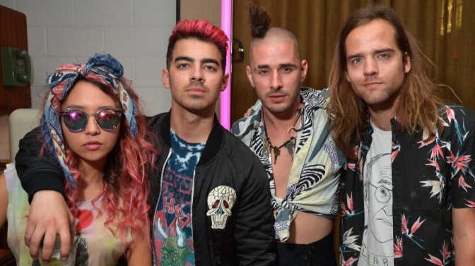 DNCE Talk With Metro Entertainment