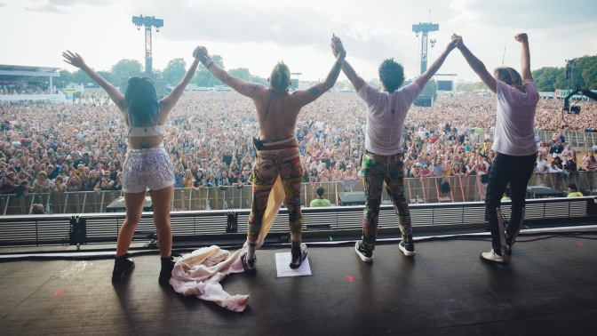 DNCE Perform at British Summer Time in London