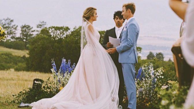 Joe Jonas Officiants Friend's Colorado Springs Wedding