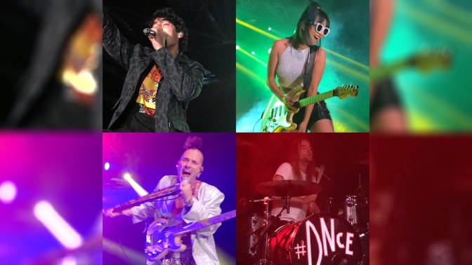 DNCE Perform at Summer in the Park Fest in North Bay, Ontario