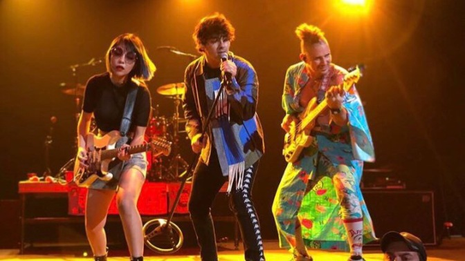 DNCE Perform at New Mexico State Fair