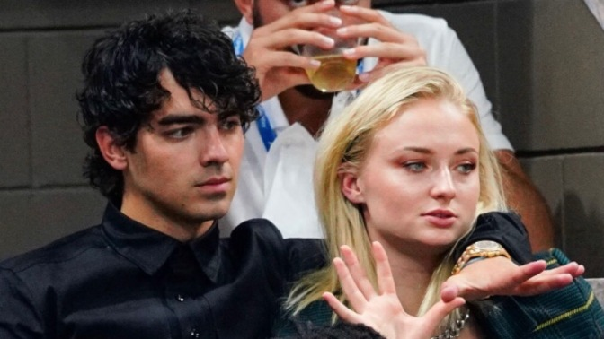 Joe Jonas Attends US Open in New York