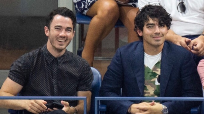 Joe Jonas Attends Day 8 Of The US Open