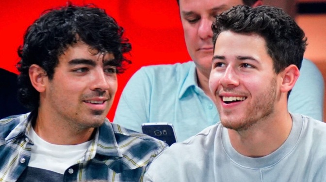 Joe Jonas, Sophie Turner, Nick Jonas and Priyanka Chopra Attend Day 9 of US Open