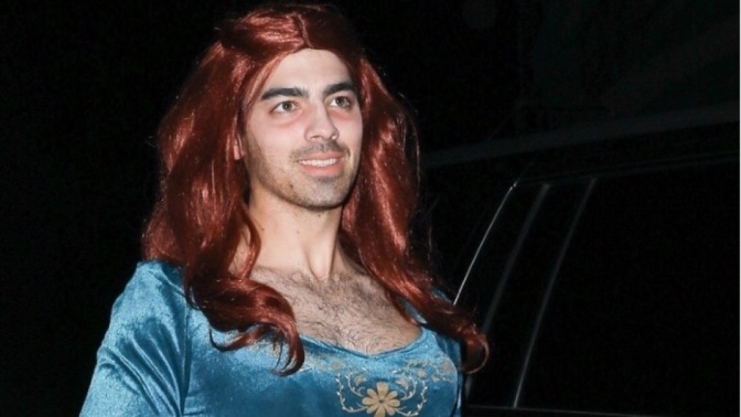 Joe Jonas Attends Kate Hudson's Annual Halloween Bash