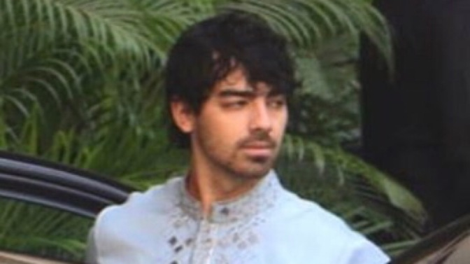 Joe Jonas Attends Nick Jonas and Priyanka Chopra's Puja Ceremony in Mumbai
