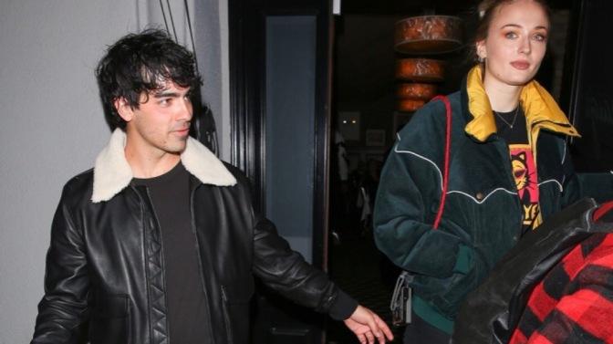 Joe Jonas out in West Hollywood