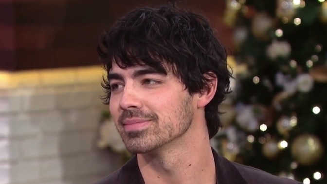 "Joe Jonas on the ""Today Show"""