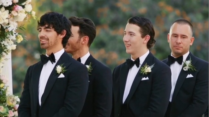 Joe Jonas Attends Nick Jonas and Priyanka Chopra's Weddings