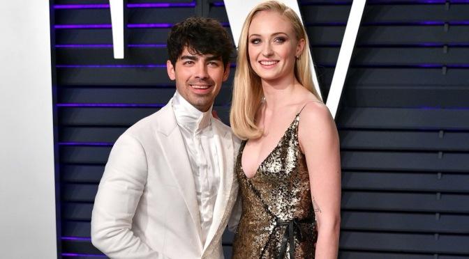 Joe Jonas Attends 2019 Vanity Fair Oscar Party